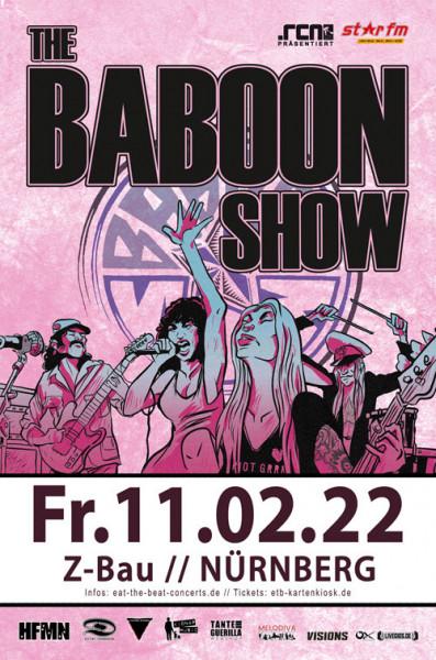 The Baboon Show / 11.02.22 / Nürnberg
