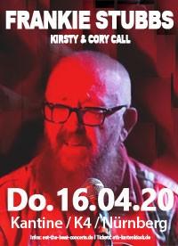 Frankie Stubbs / 16.04.20 / Nürnberg