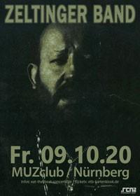 Zeltinger Band / 09.10.20 / Nürnberg