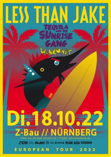 Less Than Jake / 18.10.22 / Nürnberg