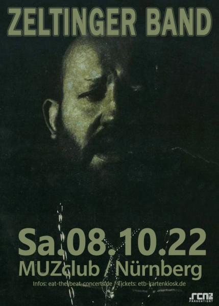 Zeltinger Band / 08.10.22 / Nürnberg