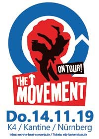 The Movement / 14.11.19 / Nürnberg