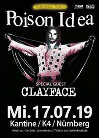 Poison Idea, 17.07.19, Nürnberg, Kantine