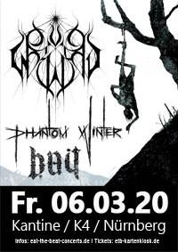 Sun Worship & Phantom Winter & Bait / 06.03.20 / Nürnberg