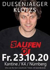 Duesenjaeger + Klotzs / 23.10.20 / Nürnberg